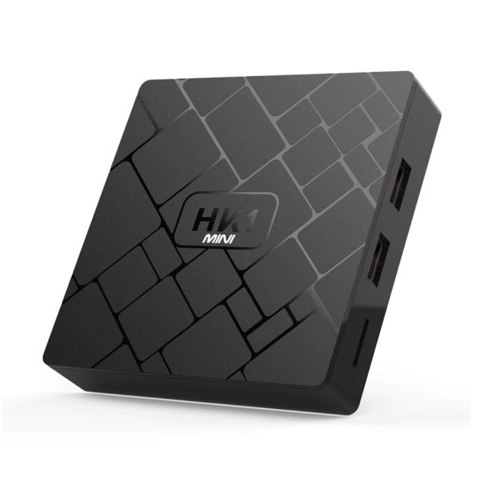 Stuff Certified ® HK1 Mini 4K TV Box Mediaspeler Android Kodi - 2GB RAM - 16GB Opslagruimte + Draadloos Toetsenbord