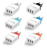 Stuff Certified® Qualcomm Quick Charge 3.0 Triple (3x) USB Port iPhone/Android Muur Oplader Wallcharger Oranje