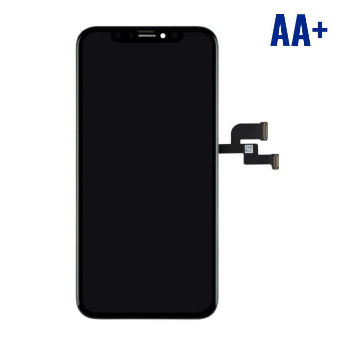 iPhone XS Screen (Touchscreen + OLED + Parts) AA + Quality - Black