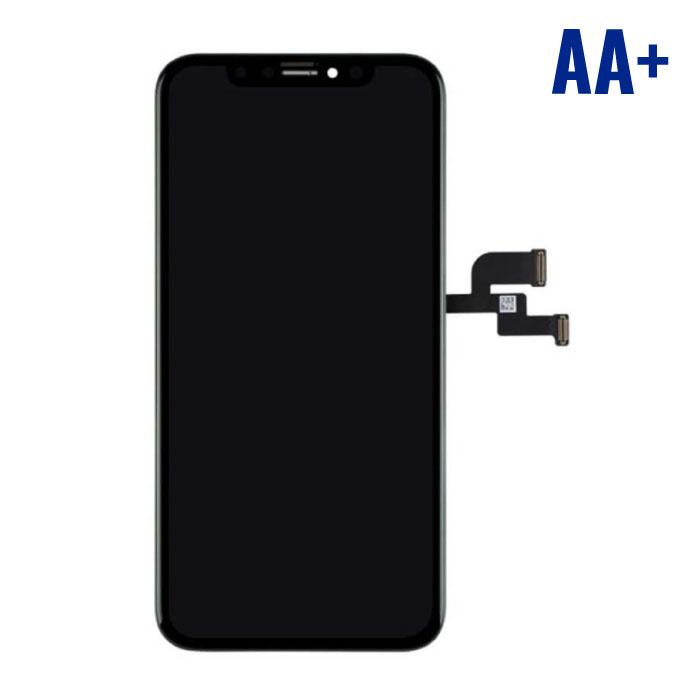 Stuff Certified ® iPhone XS Scherm (Touchscreen + OLED + Onderdelen) AA+ Kwaliteit - Zwart