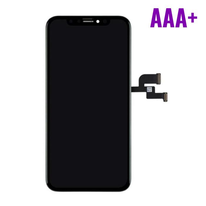 iPhone XS Scherm (Touchscreen + OLED + Onderdelen) AAA+ Kwaliteit - Zwart