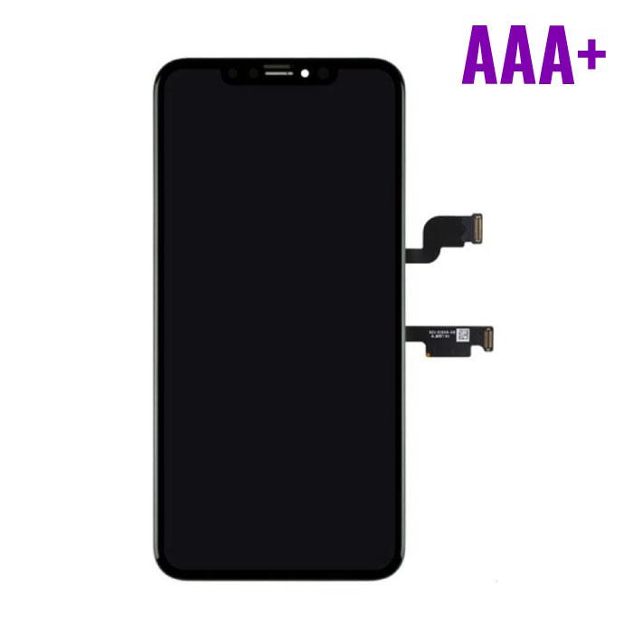 iPhone XS Max Scherm (Touchscreen + OLED + Onderdelen) AAA+ Kwaliteit - Zwart