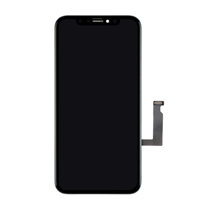 iPhone XR Scherm (Touchscreen + LCD + Onderdelen) A+ Kwaliteit - Zwart