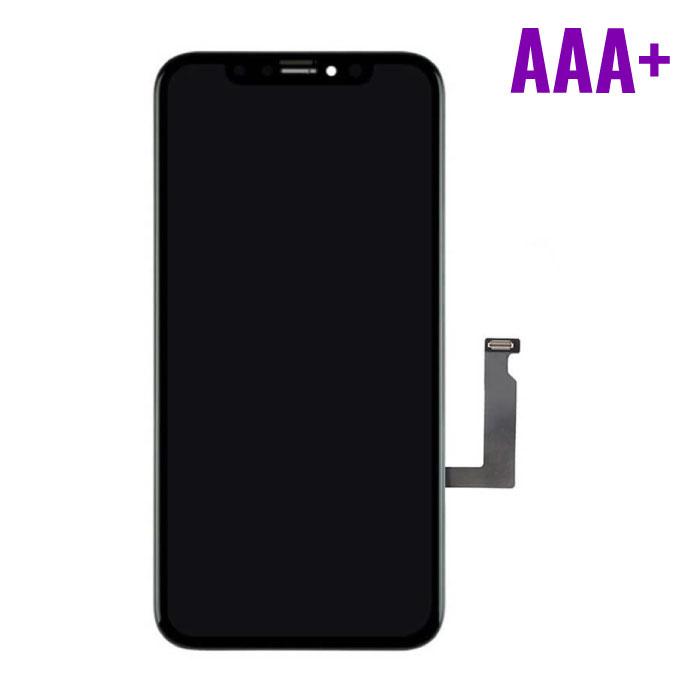 iPhone XR Scherm (Touchscreen + LCD + Onderdelen) AAA+ Kwaliteit - Zwart
