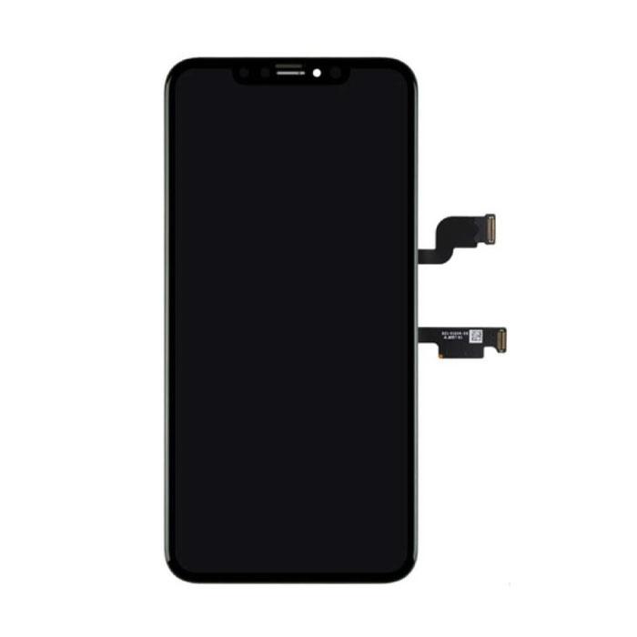 Stuff Certified ® iPhone XS Max Scherm (Touchscreen + OLED + Onderdelen) AAA+ Kwaliteit - Zwart + Gereedschap