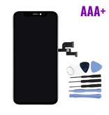 Stuff Certified ® iPhone XS Scherm (Touchscreen + OLED + Onderdelen) AAA+ Kwaliteit - Zwart + Gereedschap
