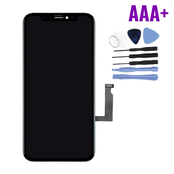 iPhone XR Screen (Touchscreen + LCD + Parts) AAA + Quality - Black - Copy
