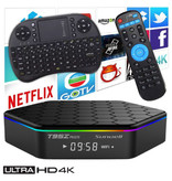 Stuff Certified ® T95Z Plus 4K TV Box Mediaspeler Android 7.1 Kodi - 3GB RAM - 32GB Opslagruimte + Draadloos Toetsenbord