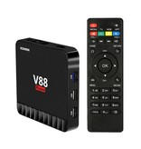 Stuff Certified ® Scishion V88 Piano 4K TV Box Media Player Android Kodi - 4GB RAM - 16GB Storage - Copy