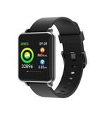 COLMI Land 1 Smartwatch Smartband Smartphone Fitness Sport Activity Tracker Horloge OLED iOS Android Zwart Siliconen Bandje