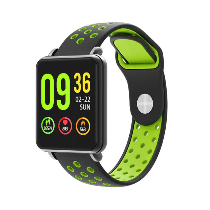 COLMI Country 1 Smartwatch Smartband Smartphone Watch OLED iOS Android Green Two-Tone Strap