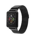 COLMI Country 1 Smartwatch Smartband Smartphone Watch OLED iOS Android Black Magnetic Strap