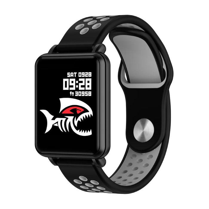 COLMI Land 1 Smartwatch Smartband Smartphone Horloge OLED iOS Android Grijs Two-Tone Bandje