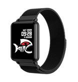 COLMI Land 1 Smartwatch Smartband Smartphone Horloge OLED iOS Android Zwart Magnetisch Bandje