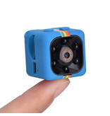 Stuff Certified® SQ11 Mini DVR Security Action Camera HD 1080p Infrared LED Motion Detector Blue