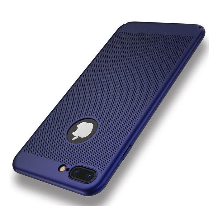 Stuff Certified ® iPhone XS Max - Ultra Slanke Case Warmteafvoer Cover Cas Hoesje Blauw