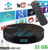 Stuff Certified® HK1 Max 4K TV Box Mediaspeler Android Kodi - 4GB RAM - 32GB Opslagruimte