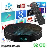 Stuff Certified ® Lecteur multimédia HK1 Max 4K TV pour Android Kodi - 4 Go de RAM - Stockage de 32 Go