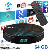 Stuff Certified® HK1 Max 4K TV Box Mediaspeler Android Kodi - 4GB RAM - 64GB Opslagruimte