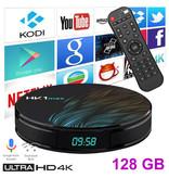 Stuff Certified ® HK1 Max 4K TV Box Mediaspeler Android Kodi - 4GB RAM - 128GB Opslagruimte