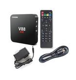 Stuff Certified ® Lecteur de média V88 4K TV Box Android Kodi - 1 Go de RAM - Stockage de 8 Go + Clavier sans fil
