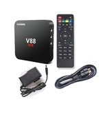 Stuff Certified ® V88 4K TV Box Mediaspeler Android Kodi - 1GB RAM - 8GB Opslagruimte + Draadloos Toetsenbord