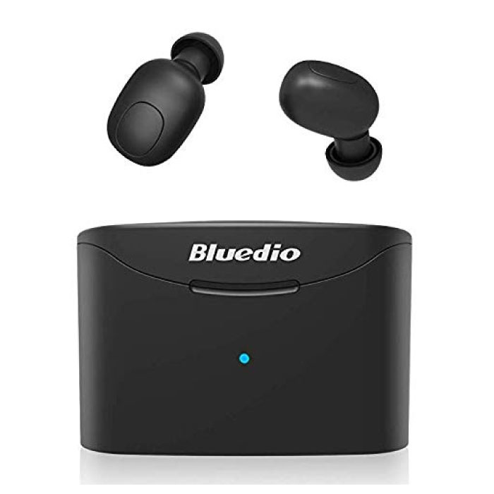 Bluedio T-Elf Mini TWS Wireless Bluetooth 5.0 Earphones Air Wireless Pods Earphones Earbuds Black