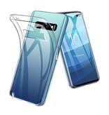 Stuff Certified® Samsung Galaxy S10 plus Transparent Silicone Case Cover TPU Case