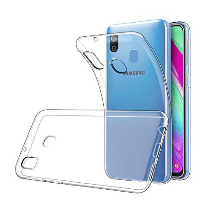Stuff Certified® Samsung Galaxy A50 Transparent Silicone Case Cover TPU Case