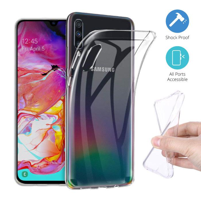 Transparent Clear Case Cover Silicone TPU Case Samsung Galaxy A70