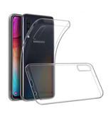Stuff Certified® Samsung Galaxy A70 Transparent Silicone Case Cover TPU Case