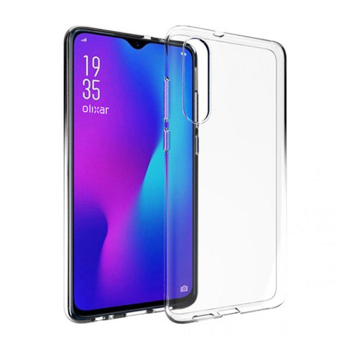 Stuff Certified® Huawei P30 Transparant Clear Case Cover Silicone TPU Hoesje