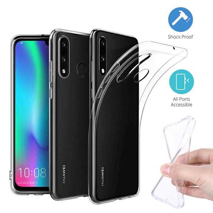 Transparent Clear Case Cover Silicone TPU Case Huawei P30 Lite