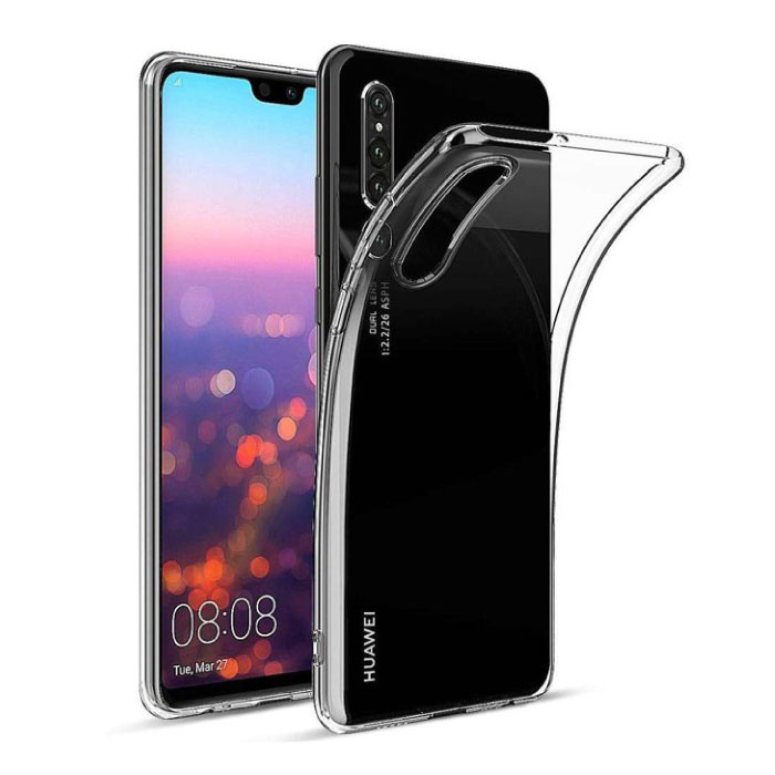 Stuff Certified® Huawei P30 Lite Transparant Clear Case Cover Silicone TPU Hoesje