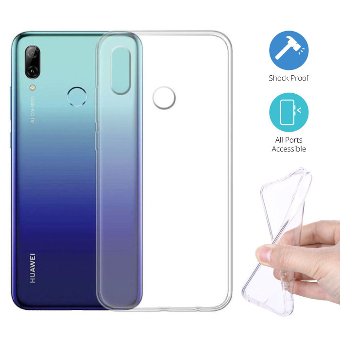 Transparent Clear Case Cover Silicone TPU Case Huawei P Smart 2019