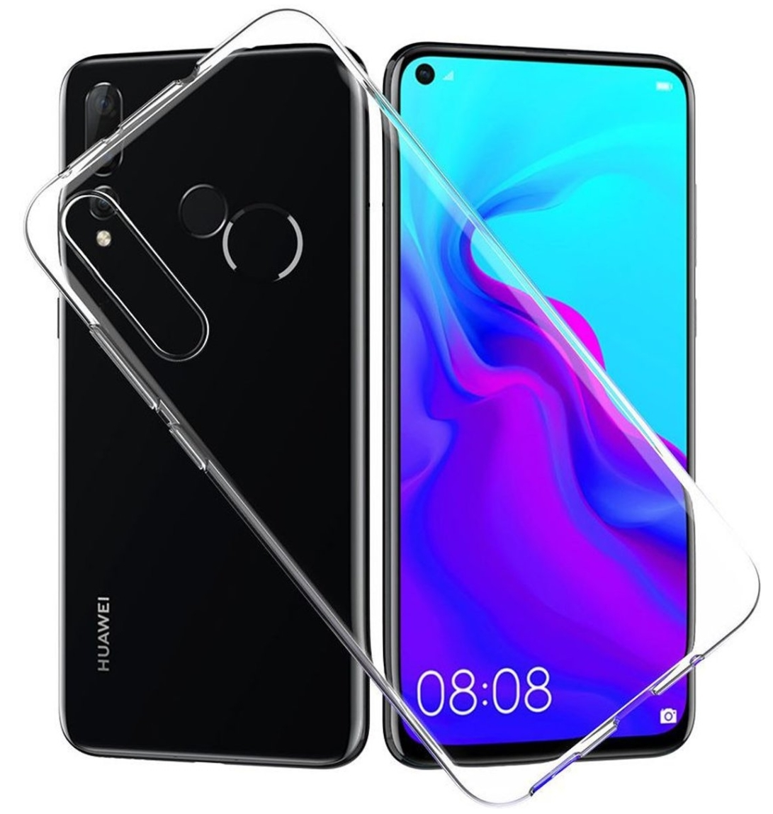 Stuff Certified® Huawei P Smart 2019 Transparant Clear Case Cover Silicone TPU Hoesje