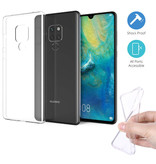 Stuff Certified® Huawei Mate 20 Transparant Clear Case Cover Silicone TPU Hoesje