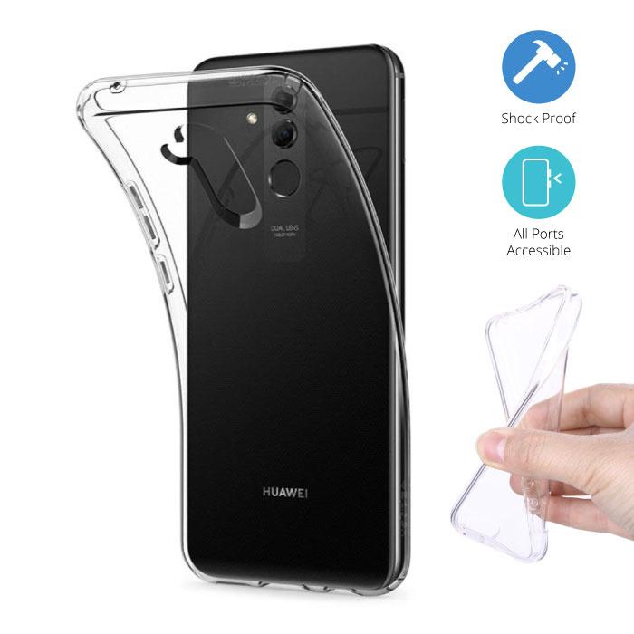 Transparent Clear Case Cover Silicone TPU Case Huawei Mate 20 Lite