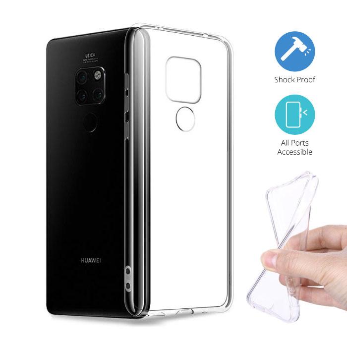 Transparent Clear Case Cover Silicone TPU Case Huawei Mate 20 Pro