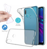 Stuff Certified® Huawei Y6 2019 Transparant Clear Case Cover Silicone TPU Hoesje
