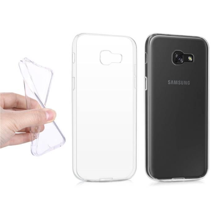 Transparent en silicone transparent de couverture de cas TPU Samsung Galaxy A5 2015