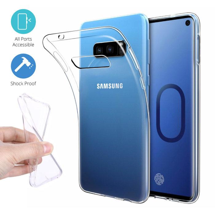 Transparent Clear Case Cover Silicone TPU Case Samsung Galaxy S10e