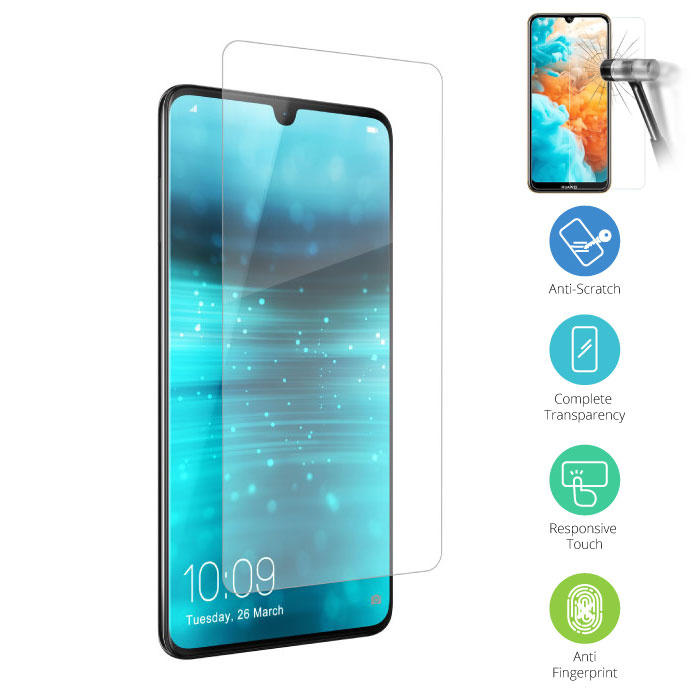 Stuff Certified® Huawei P30 Pro Transparant TPU Hoesje + Screen Protector Tempered Glass