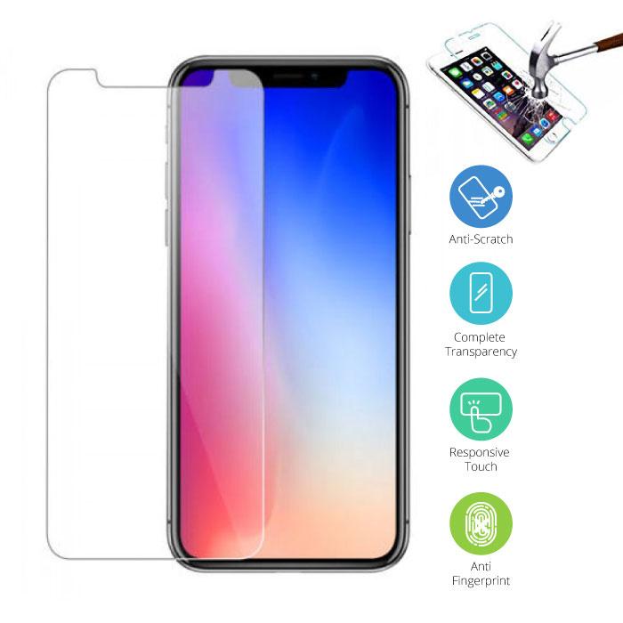 Stuff Certified® iPhone Pro Max 11 Transparent TPU + écran protecteur en verre trempé