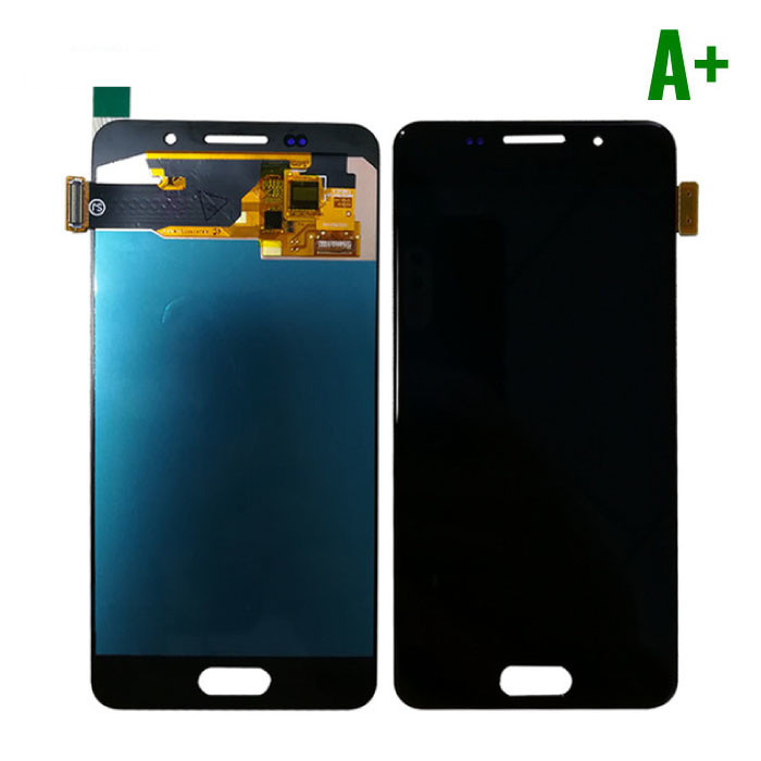 Samsung Galaxy A3 2016 A310 Screen (Touchscreen + AMOLED + Parts) A + Quality - Black