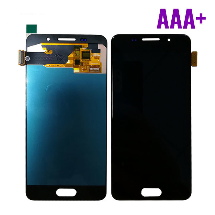 Samsung Galaxy A3 2016 A310 Screen (Touchscreen + AMOLED + Parts) AAA + Quality - Black