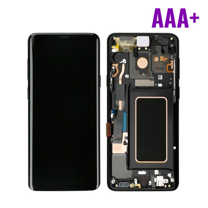 Samsung Galaxy S9 Plus G965 Screen (Touch Screen + AMOLED + Parts) AAA + Quality - Black