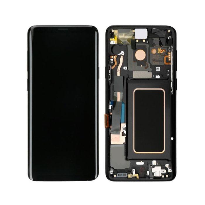Samsung Galaxy S9 Plus G965 Bildschirm (Touchscreen + AMOLED + Teile) AAA + Qualität - Schwarz
