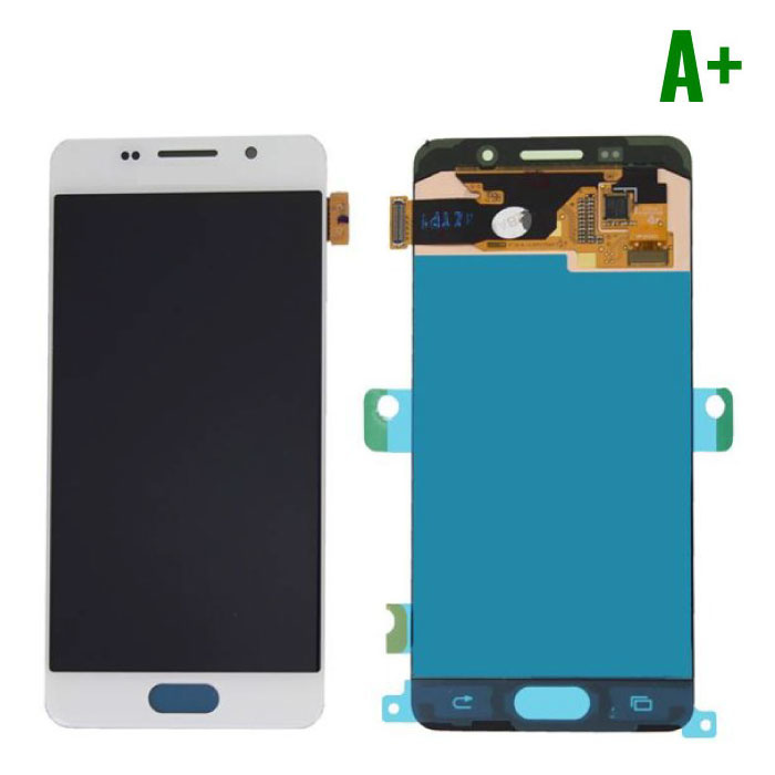Samsung Galaxy A3 2016 A310 Screen (Touchscreen + AMOLED + Parts) A + Quality - White