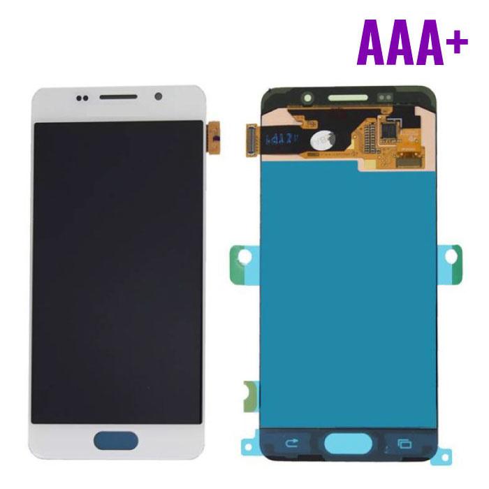 Samsung Galaxy A3 2016 A310 Scherm (Touchscreen + AMOLED + Onderdelen) AAA+ Kwaliteit - Wit